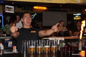 Pyrotechnic Bartending Cheers