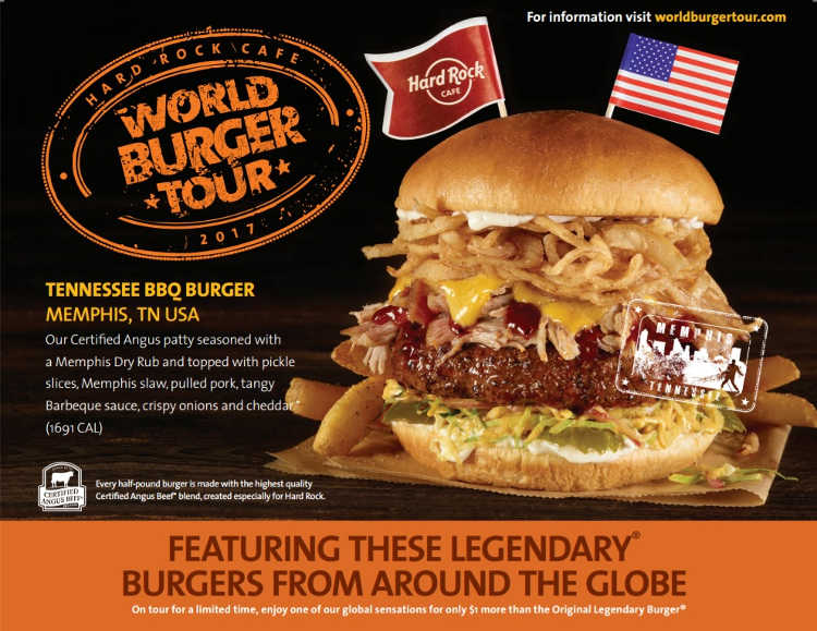 Tennessee BBQ Burger