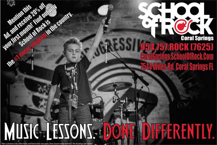 School of Rock Coral Springs