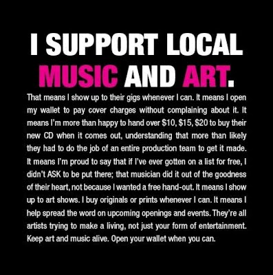 Support Local Music & Art