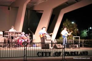 Shadow Creek outdoor concert
