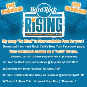 Hard Rock Rising Facebook