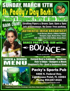 Packys Pub St Pattys Bounce