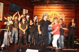 Hard Rock Cafe Winners