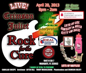 Rock for the Cure at Mugshots