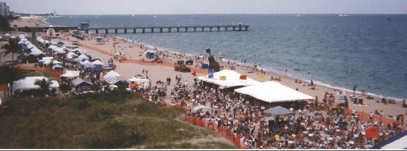 seafood fest beach