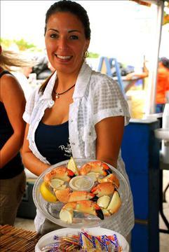 seafood fest food presentation
