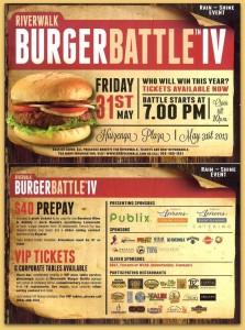 Burger Battle Riverwalk