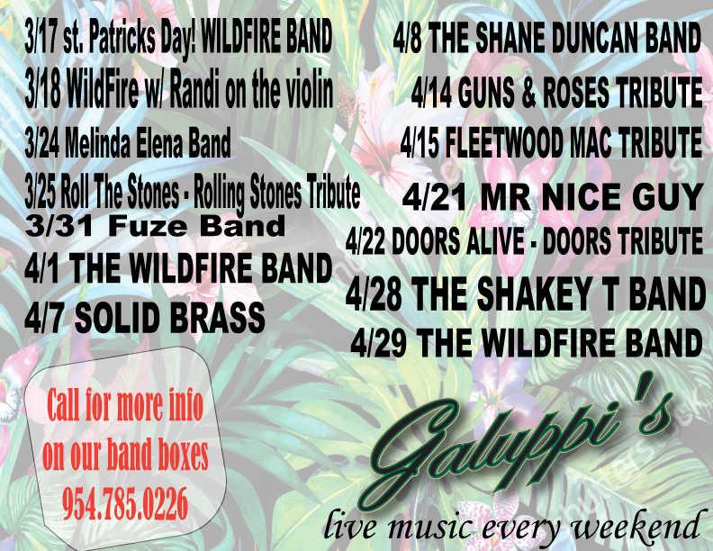 Galuppis APRIL Music