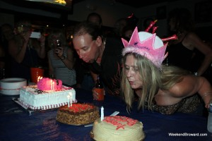 Birthday at Cagneys