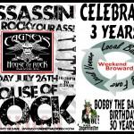 Assassin Rocks Cagney's Saloon