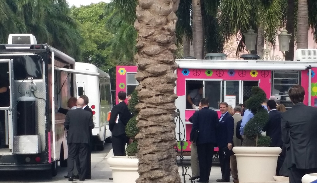 business lunch food trucks