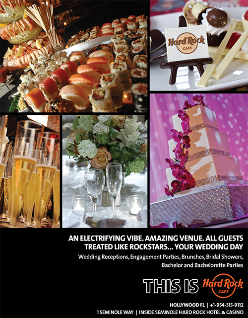 Hard ROck Cafe Banquets and Special Events