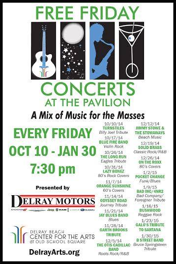 Friday Concerts in Delray Beach