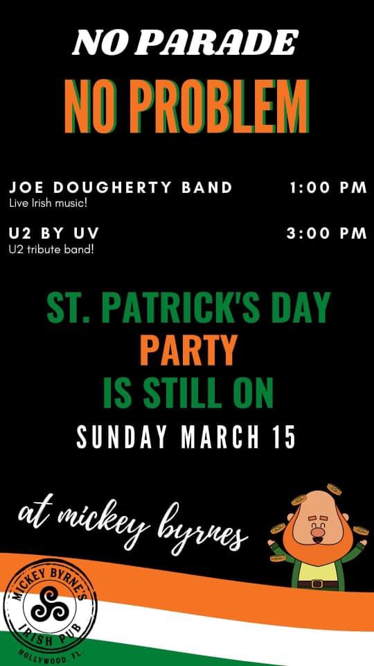 U2 by UV at Mickey Byrnes
