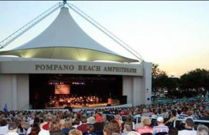 Pompano Beach Amphitheater crowd