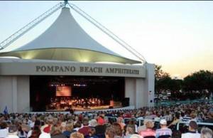 Pompano Beach Amphitheater crowd