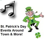 St Patrick's Day Live Entertainment around Town