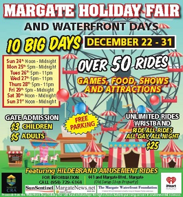 Margate Christmas Market 2020 The Margate City Fair has something for everyone   WeekendBroward