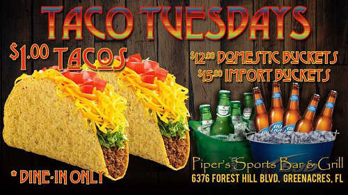 Taco Tuesday Pipers