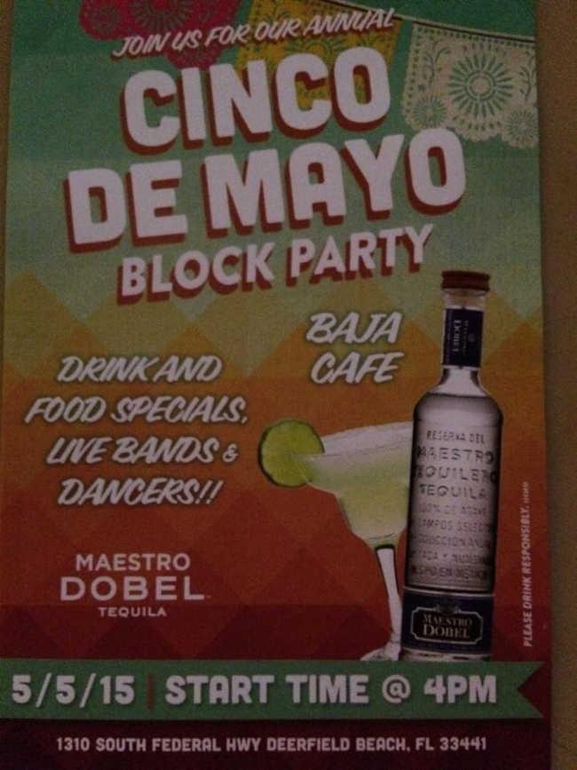 Baja Cafe Deerfield Cinco de Mayo