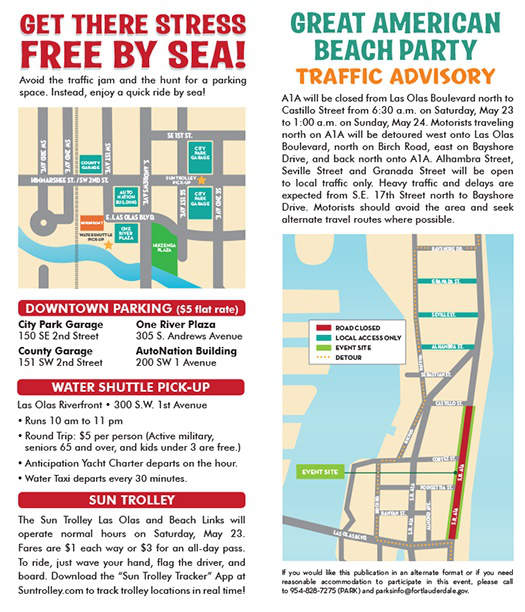 Beach Party Parking