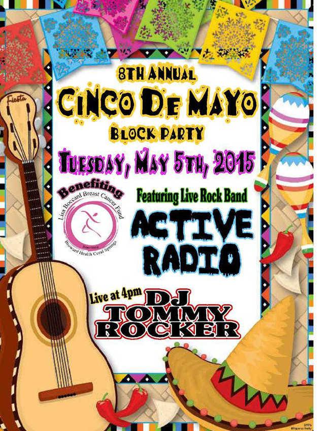 Tijuana Taxi  Cinco de Mayo Block Party