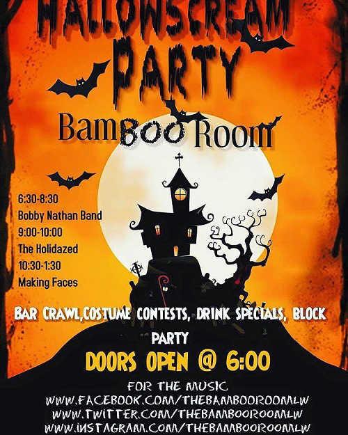 Bamboo Room Halloween