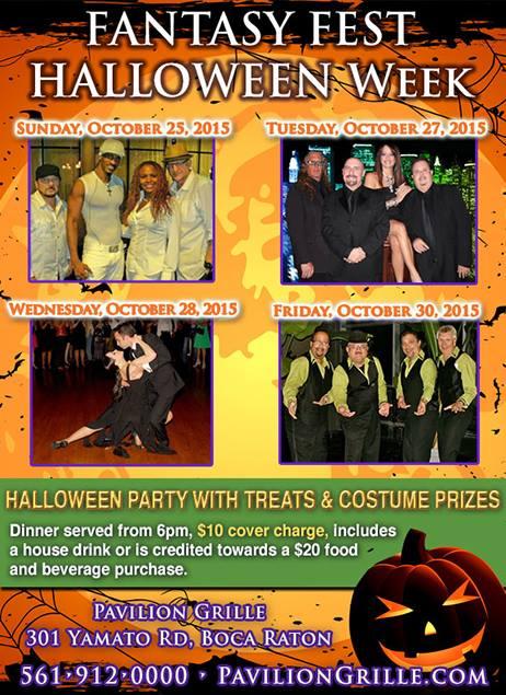 Pavillion Grille Halloween Week