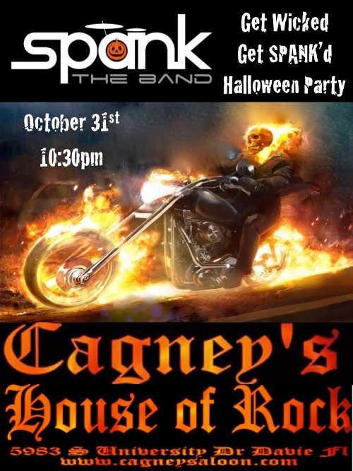 Spank Oct 31 Halloween