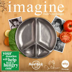 "Yoko Ono Lennon Teams Up With Hard Rock And WhyHunger To ""Imagine"" a Future Free From Hunger"
