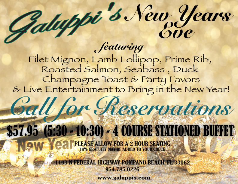 Galuppi New Years Eve