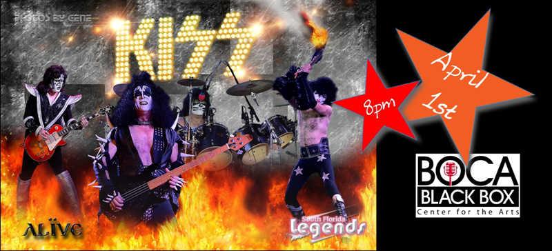 Kiss alive tribute concert at boca black box weekendbroward