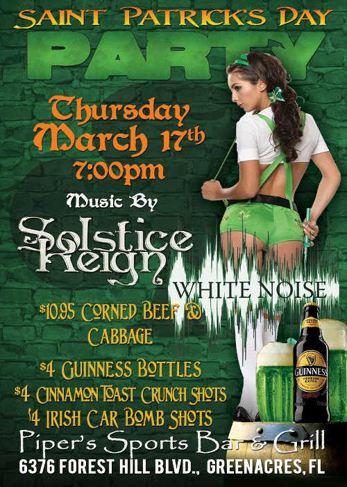 St Patricks Day March 17-500