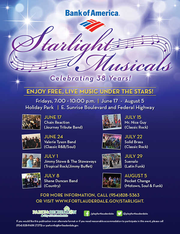 Starlight Musicals 2016
