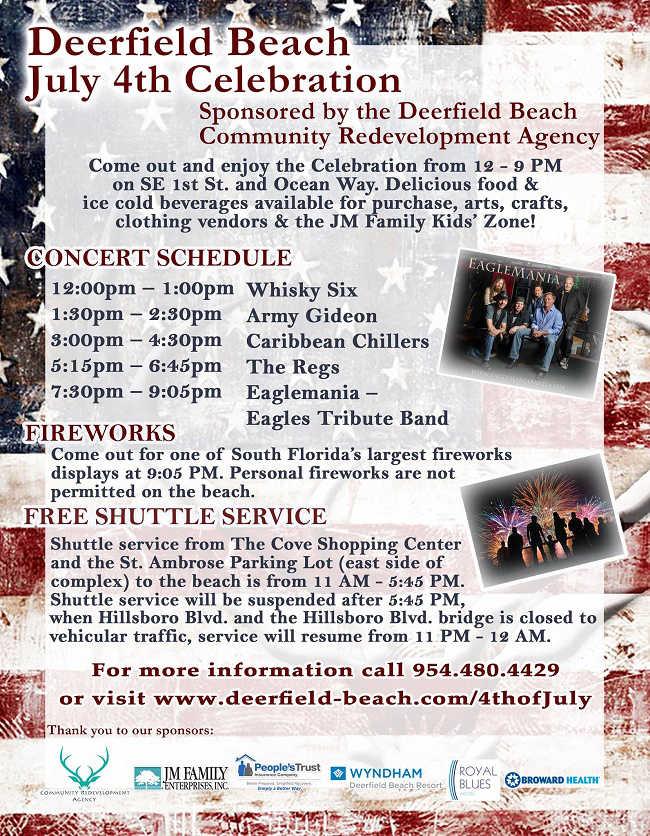 Deerfield Beach July 4th