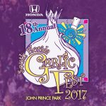 Garlic Fest Announces Entertainment Lineup & New Venue for 2017