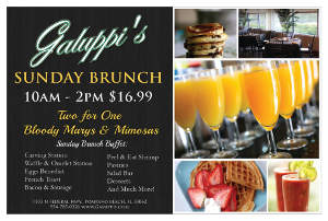 Galuppi\'s Sunday Brunch