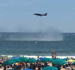 Air Show Kicks Off With Friday Night Sound Waves Concert
