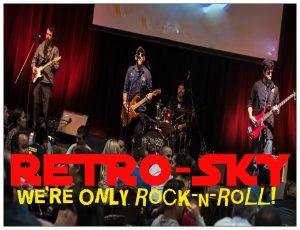 Retro-Sky Rock Band South Florida