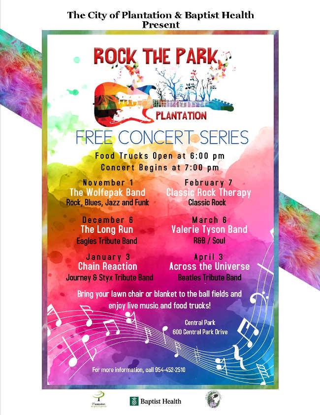 Rock the Park Plantation