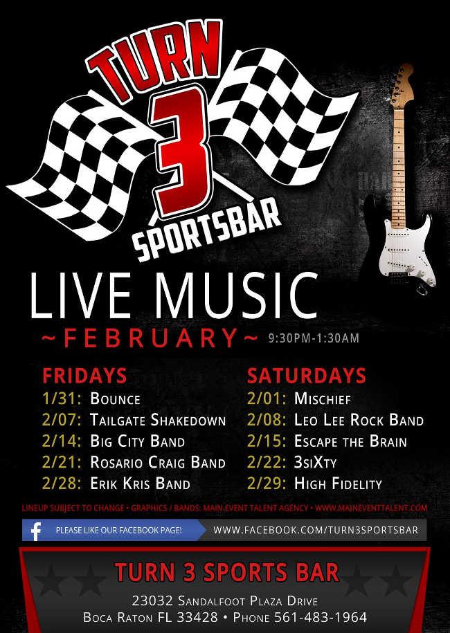 Turn 3 Sports Bar