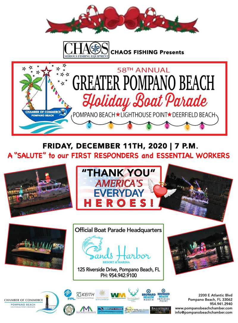 2020 Pompano Beach Holiday Boat Parade