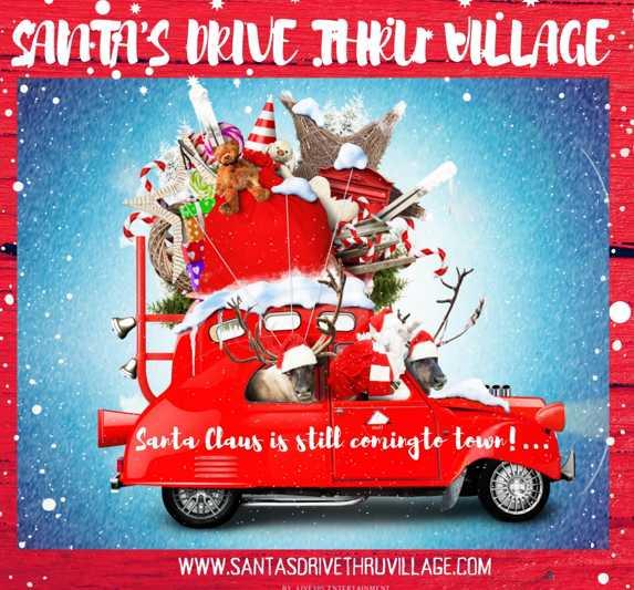Santa Drive Thru