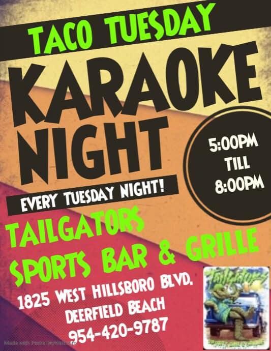 Taco Tuesday Karaoke