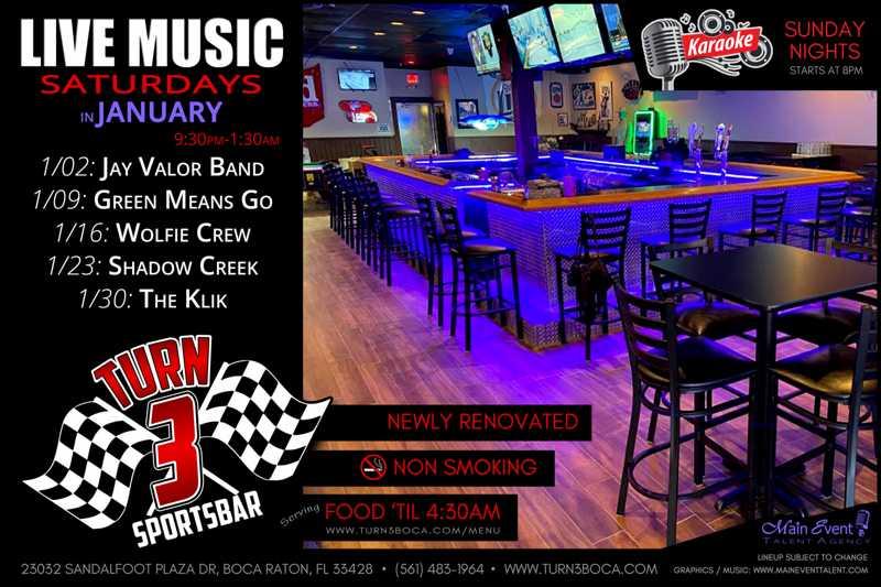 Turn3 Sports Bar Boca Raton