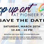 Pop up Art at Pioneer Park in Deerfield Beach