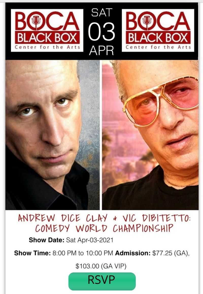 Andrew Dice Clay Comedy Show