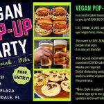 Vegan Pop-Up Party in Downtown Fort Lauderdale