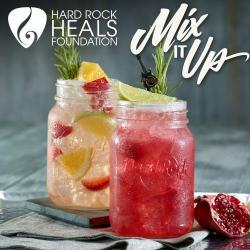 Hard Rock Cafe Mixes Up New Cocktails with A Charitable Twist